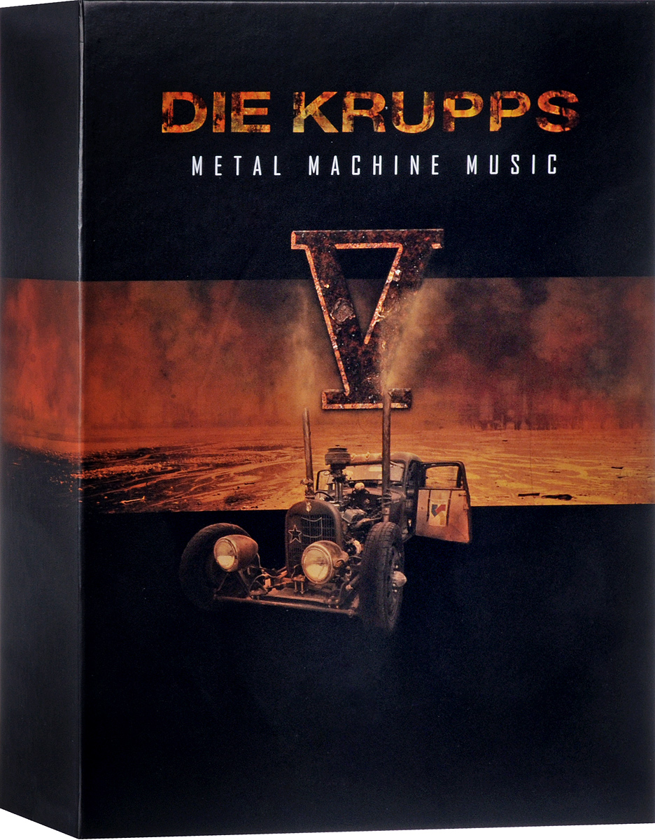 Die Krupps Die Krupps. V - Metal Machine Music (Deluxe) (2 CD) free shipping of 1pc alloy steel made right hand manual die 2 16 un die threading tools lathe model engineer thread maker