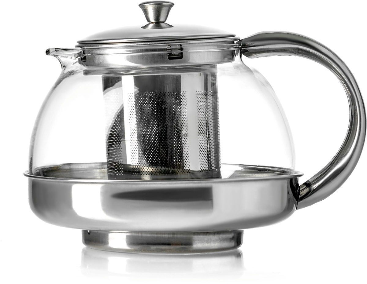 Чайник заварочный Walmer Alba, цвет: серый металлик, 800 млW23004080Чайник заварочный Alba, 800мл