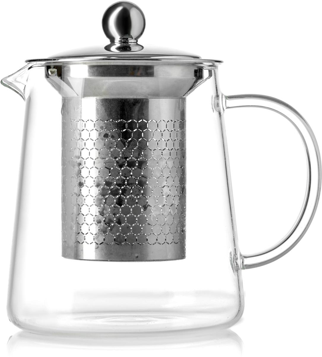 Чайник заварочный Walmer Sapphire, цвет: прозрачный, 600 млW23007060Чайник заварочный Sapphire, 600мл