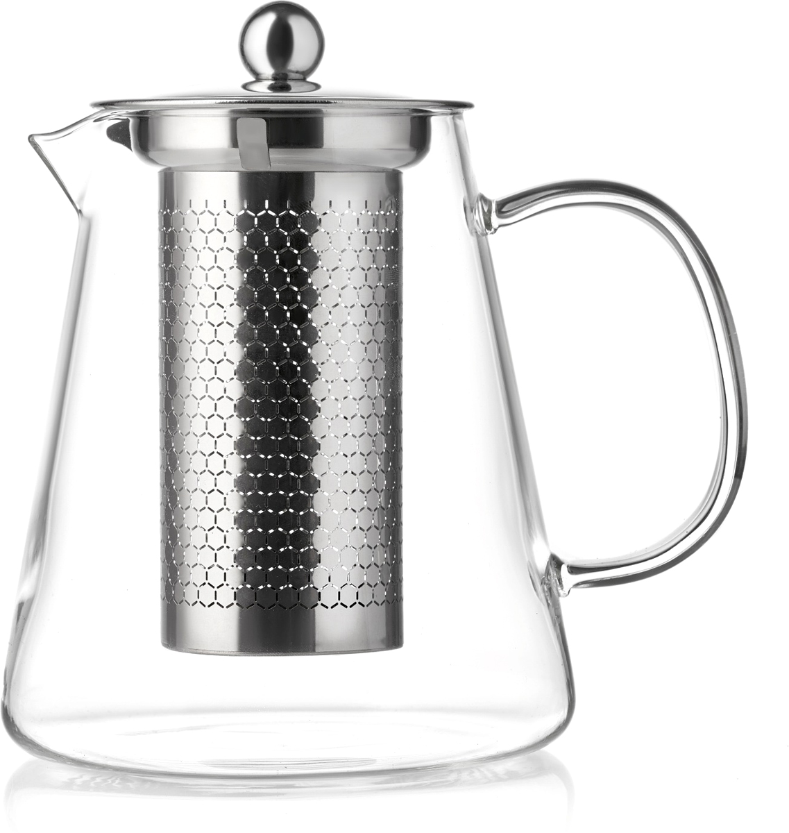 Чайник заварочный Walmer Sapphire, цвет: прозрачный, 1 л заварочный чайник yf 6601