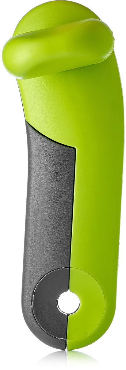 Нож консервный Walmer Vegan, цвет: зеленый, серый, длина 16 см