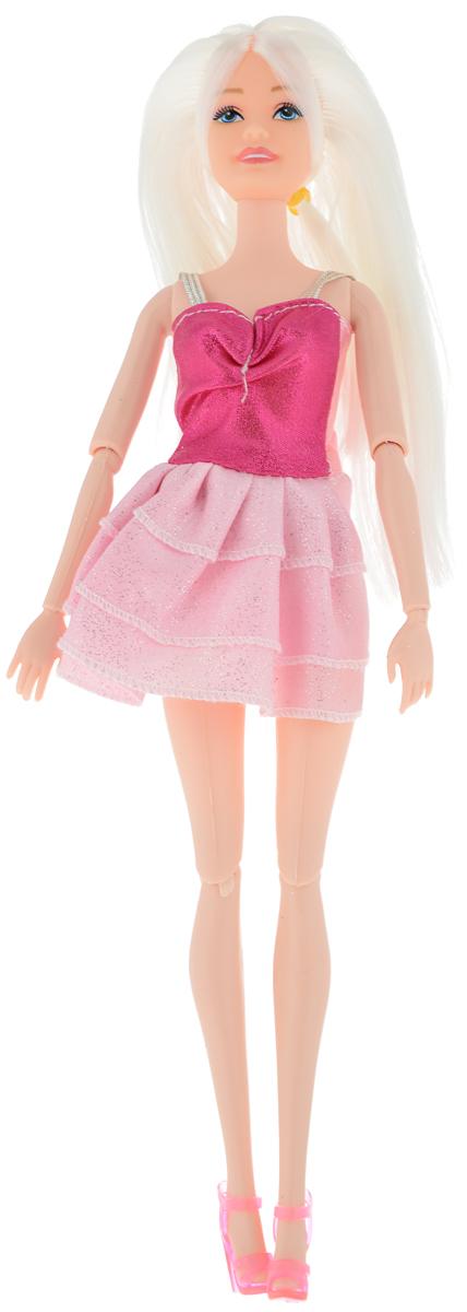 Veld-Co Кукла Модница Блондинка цвет платья розовый veld co кукла isabella