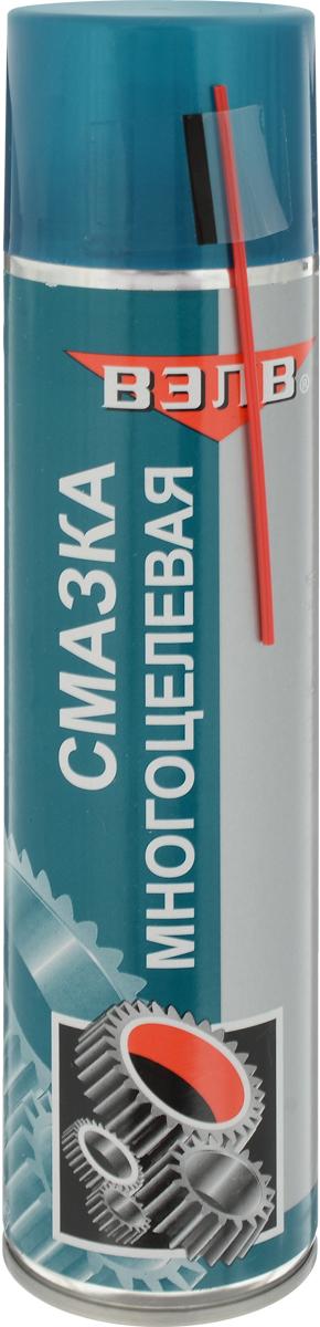 Смазка многоцелевая ВЭЛВ VS-40, аэрозоль, 400 мл. 20852085Многоцелевая смазка ВЭЛВ VS-40 предназначена для смазки и защиты от коррозии металлических деталей и механизмов, вытеснения влаги с их поверхности, облегчения разъединения заржавевших резьбовых соединений, а также для чистки и смазки замков, петель и т. п., убирает скрипы и снижает трение.Товар сертифицирован.