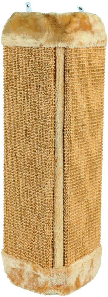 Когтеточка Trixie, угловая, 60,5 см43431- сизаль/плюш, - каждая поверхность сизалевого покрытия: 14 ? 46 см, - вертикальное крепление, - Расчётный объём (упак.): 0,005 м3, - Расчётный вес (упак.): 1,54 кг