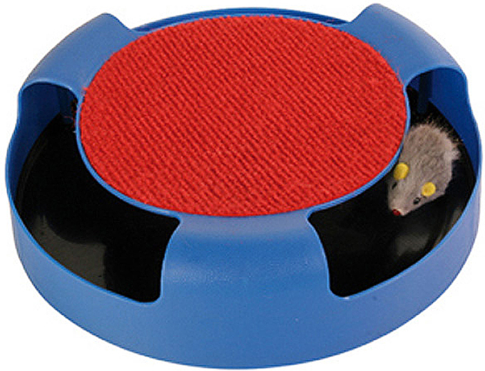 Игрушка Trixie Мышка в ловушке трикси туннель когтеточка для кошек trixie 32см