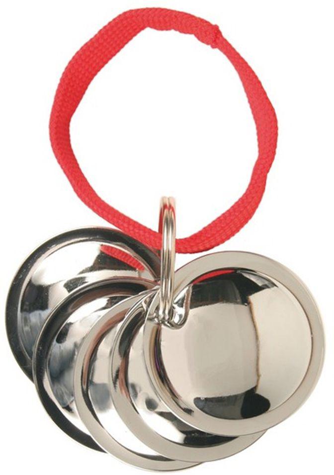 Игрушка Trixie Диск тренировочный, 5 шт2288- 5 металлических дисков на верёвке, - эффективная дрессировка собаки с применением звукового сигнала, - хромированное покрытие, - в комплект входит брошюра с рекомендациями по проведению тренировок