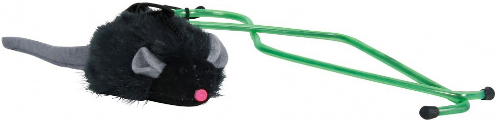 Игрушка Trixie Мышка, с микрочипом, с креплением на дверном проеме4546Игрушка Trixie выполнена в виде забавной мышки, умеющей пищать. Подвесьте мышку под дверной проем с помощью кронштейна и вытащите стопор чипа. Мышь начнет издавать звуки, похожие на писк, что привлечет кошку.Длина мышки: 7 см. Уважаемые клиенты!Обращаем ваше внимание на цветовой ассортимент товара. Поставка осуществляется в зависимости от наличия на складе.
