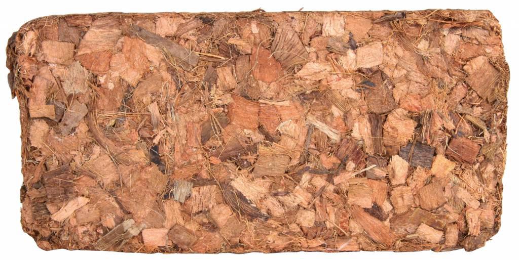 Субстрат кокосовый Trixie Тропики, для террариумов, 9 л76153Экологически чистый природный материал:- увеличивается в размере от 7 до 8 раз;- значение pH между 5.0 и 6.0;- обработано термически, не содержит грибков и микробов;- без добавления удобрений.Субстрат кокосовый Trixie помимо декоративной функции играет важную рольв создании и поддержании влажности воздуха в террариуме и совершеннобезопасен для террариумных животных.Естественное обеззараживающее воздействие материала предупреждаетраспространение плесени в грунте.Этот субстрат так же можно использовать как питательный грунт для живыхрастений в террариуме или флорариуме.Кокосовый субстрат может также применяться для инкубации яиц благодарясвоим гигроскопичным свойствам.Прессованный кокосовый субстрат залить холодной или теплой водой иподождать увеличения объема.Объем при размачивании от 8 до 9 литров.