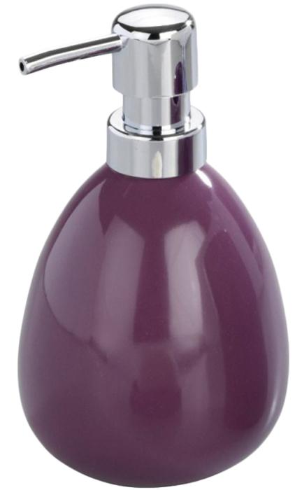 Диспенсер для мыла Wenko Polaris, цвет: фиолетовый