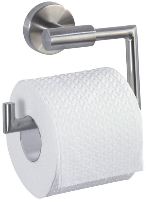Держатель для туалетной бумаги Wenko Bosio, цвет: серый металлик19612100