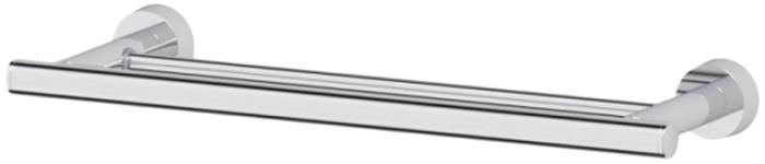Держатель для полотенец Wenko Bosio Duo, цвет: серый металлик19616100