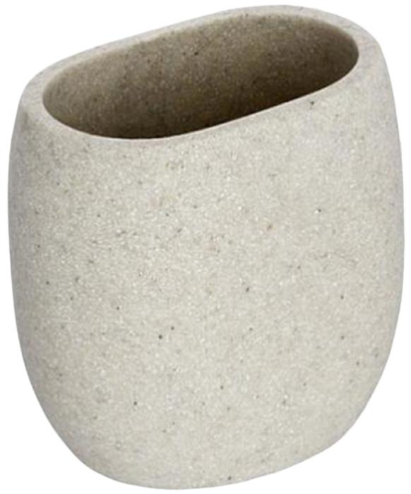 Стакан для ванной комнаты Wenko Puro, цвет: слоновая кость20474100