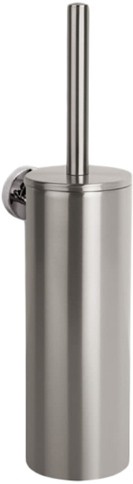 Ершик для унитаза Wenko Bosio, цвет: серый металлик. 2155010021550100