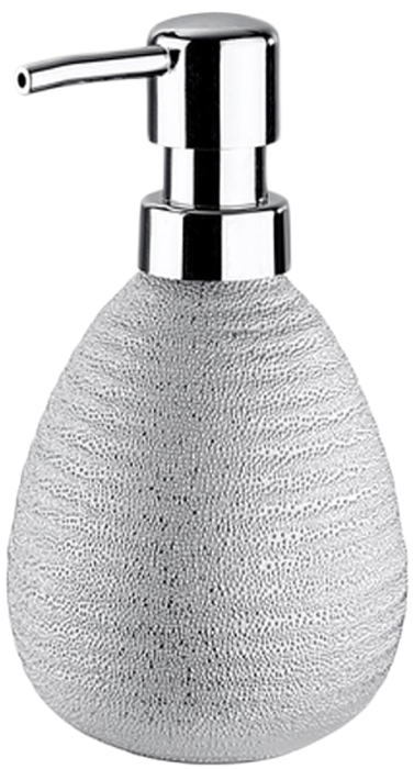 Диспенсер для мыла Wenko Polaris, цвет: серебристый wenko подушка для ванны tropic зеленый tmybw r v