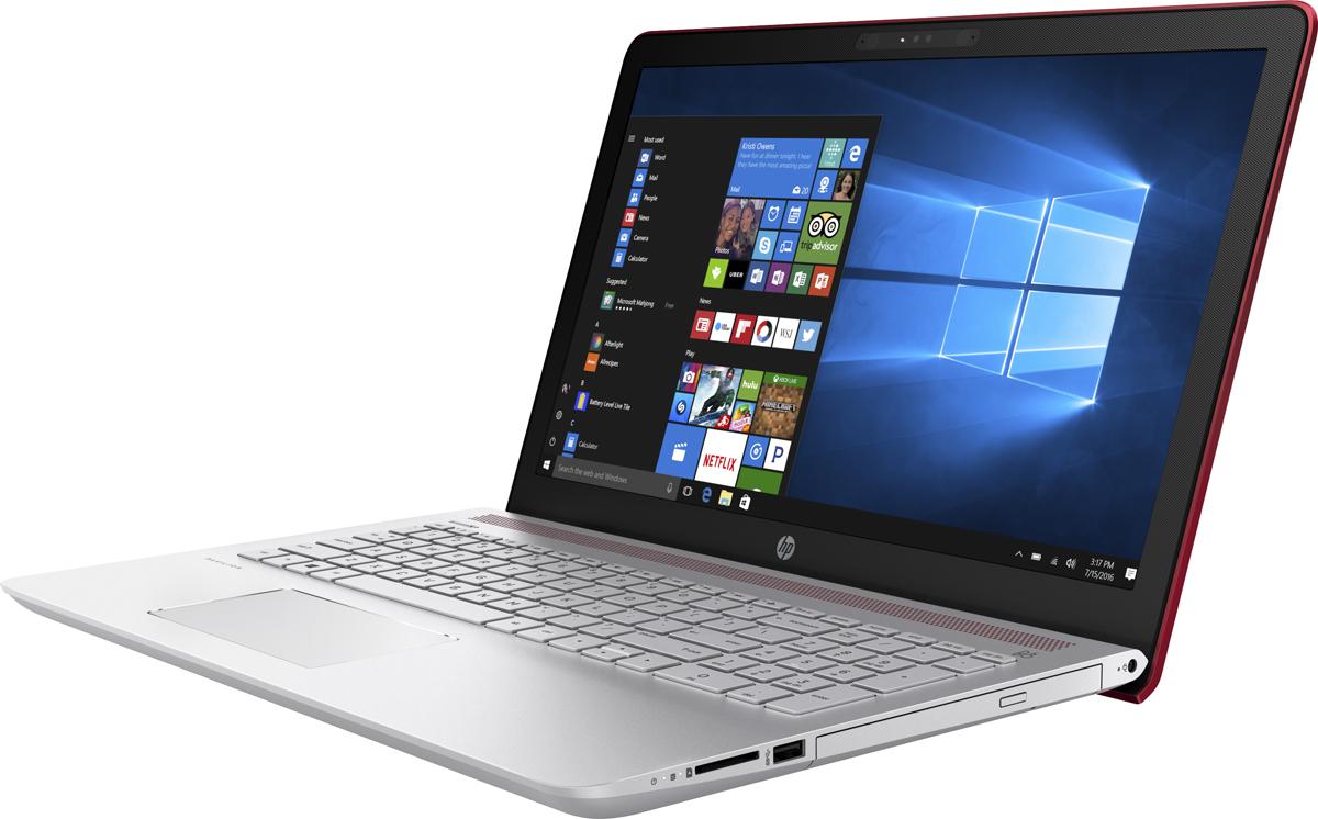HP Pavilion 15-cc105ur, Empress Red (2PN19EA)512800Ноутбук HP Pavilion 15-cc105ur сочетает все преимущества настольного ПК в компактном корпусе. Потрясающий звук и четкий Full HD дисплей - это лишь часть тех преимуществ, которые оставляют незабываемые впечатления от использования этого компьютера.Используйте по максимуму весь функционал Windows на кристально чистом экране с качеством Full HD, оптимизированном для Windows 10. Четкое изображение, с которым вы не упустите ни одну деталь - даже при плохом освещении. Наслаждайтесь живым общением благодаря веб-камере HP Wide Vision HD.С помощью производительного процессора от Intel можно выполнять любые задачи. Создавайте великолепные визуальные материалы, не замедляя работу ноутбука, благодаря дискретной графической карте NVIDIA GeForce 940MX. Благодаря модулю беспроводной связи с сертификацией Wi-Fi общаться с коллегами по Интернету и электронной почте можно не только в офисе, но и в любом другом месте с точкой доступа.Встроенные динамики обеспечивают превосходное качество звучания. С помощью разъема HDMI можно подключить ноутбук к большому HD-монитору, что особенно удобно для показа презентаций.Точные характеристики зависят от модификации.Ноутбук сертифицирован EAC и имеет русифицированную клавиатуру и Руководство пользователя