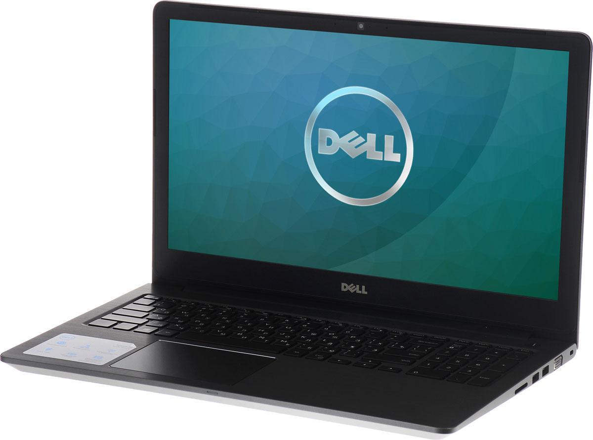 Dell Vostro 5568, Grey (5568-1120)5568-112015-дюймовый ноутбук Dell Vostro 5568, рассчитанный на производительность в типичном малом бизнесе, оснащенный клавиатурой с подсветкой, цифровой клавиатурой и функциями безопасности. Устройство имеет улучшенную легкую конструкцию и стильный внешний вид.Простота расширения: конфигурация с двумя накопителями, жестким диском и твердотельным диском, а также двумя разъемами для модулей SoDIMM DDR4 означает, что вашу систему можно будет модернизировать по мере необходимости.Превосходная графика: переключайтесь между задачами без задержки или используйте графически активные приложения благодаря выделенному графическому адаптеру NVIDIA GeForce 940MX с объемом видеопамяти 2 Гбайта.Превосходное изображение, четкий звук: яркий антибликовый дисплей с разрешением HD выдает впечатляющую картинку. Встроенная веб-камера с разрешением HD и программное обеспечение Waves MaxxAudio Pro позволяютпри удаленной работе слышать друг друга исключительно четко.Дополнительное удобство: точная сенсорная панель, цифровая клавиатура и дополнительная клавиатура с подсветкой делают работу более удобной.Надежная связь. Благодаря широкому набору портов, включая USB 3.0 и 2.0, HDMI, VGA и Gigabit Ethernet, а также считывателю карт памяти SD подключение никогда не будет проблемой.Защитите свой малый бизнес: аппаратный модуль TPM 2.0 обеспечивает аппаратную защиту коммерческого класса, а также хранит ключи шифрования, позволяющие идентифицировать ваше устройство.Точные характеристики зависят от модификации.Ноутбук сертифицирован EAC и имеет русифицированную клавиатуру и Руководство пользователя.