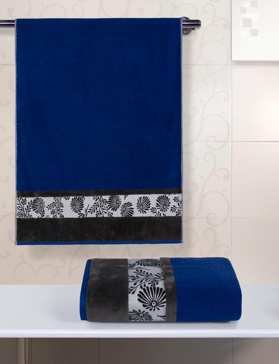 Полотенце махровое Guten Morgen Ферн, цвет: синий, 34 x 76 смВТY-10413476Полотенце изготовлено из высококачественного хлопка. Оно мягкое, приятное на ощупь, превосходно впитывает влагу. Не линяет, использованы стойкие к стирке цвета.