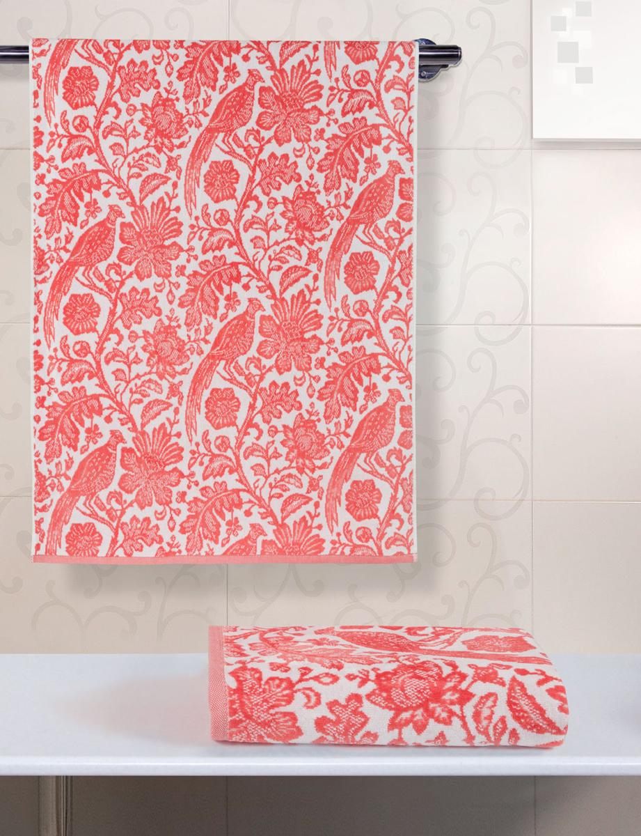 Полотенце махровое Guten Morgen Парадизо, цвет: белый, красный, 34 x 76 смВТY-10493476Полотенце изготовлено из высококачественного хлопка. Оно мягкое, приятное на ощупь, превосходно впитывает влагу. Не линяет, использованы стойкие к стирке цвета.