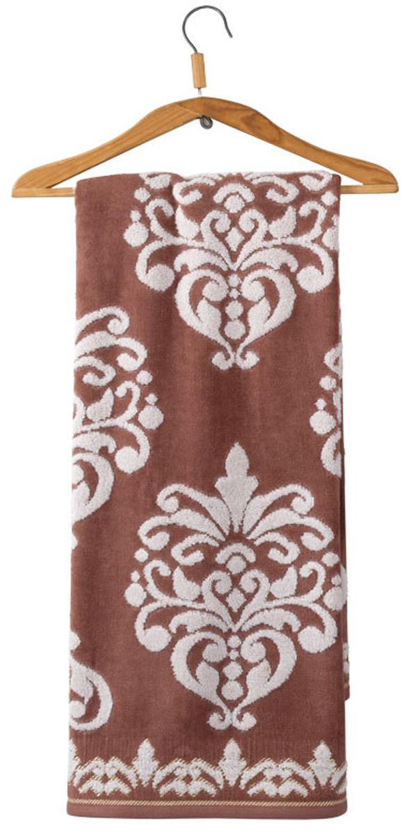 Полотенце махровое Guten Morgen Рицо, цвет: коричневый, 50 x 90 смВТY-1057 ZT 5090Полотенце изготовлено из высококачественного хлопка. Оно мягкое, приятное на ощупь, превосходно впитывает влагу. Не линяет, использованы стойкие к стирке цвета.