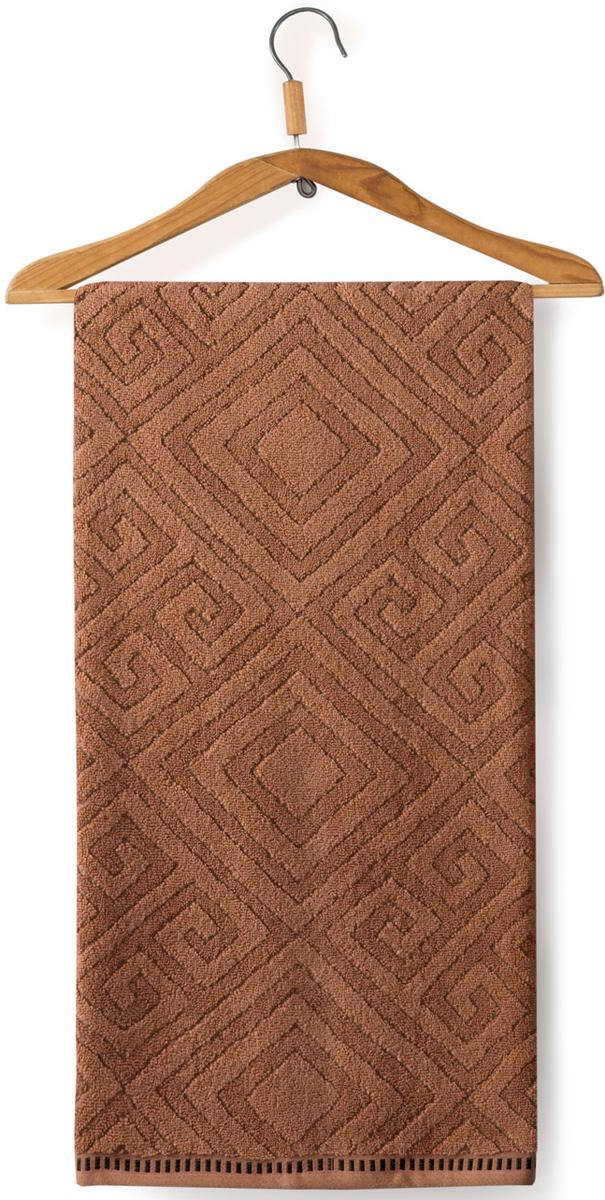 Полотенце махровое Guten Morgen Помпеи, цвет: коричневый, 50 x 90 смВТР-5215090Полотенце изготовлено из высококачественного хлопка. Оно мягкое, приятное на ощупь, превосходно впитывает влагу. Не линяет, использованы стойкие к стирке цвета.