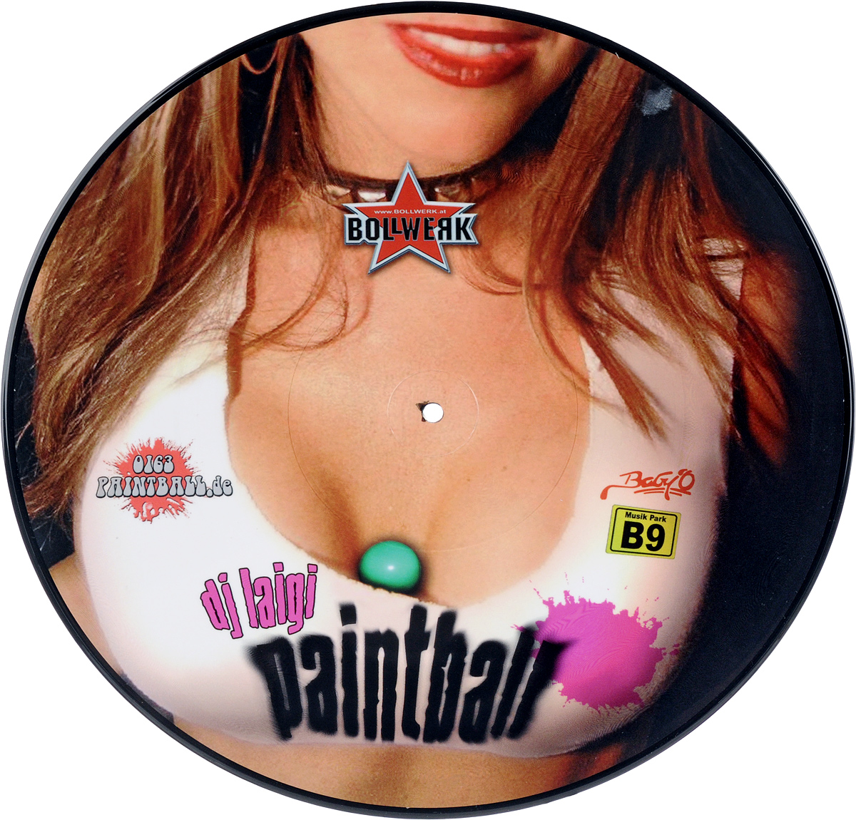 DJ Laigi DJ Laigi. Paint Ball (LP) dj schwede dj schwede fascinated maxi single lp
