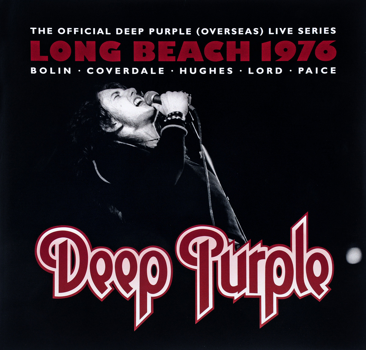 Deep Purple Deep Purple. Live at Long Beach Arena 1976 (3 LP) plunge woven sleeveless side split beach dress