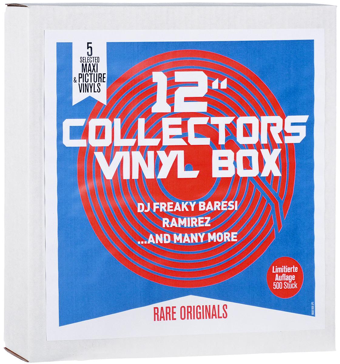 Ramirez,The Shrink,Branko,The First Trance Opera,DJ Freaky Baresi,Rico Ravanelli 12 Collector's Box (5 LP) the first trance opera of the world