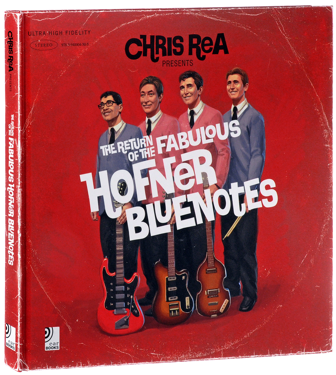 Крис Ри Chris Rea. Return of the Fabulous Hofner Bluenotes. Deluxe Edition (2 LP + 3 CD + Book) cd chris rea on the beach