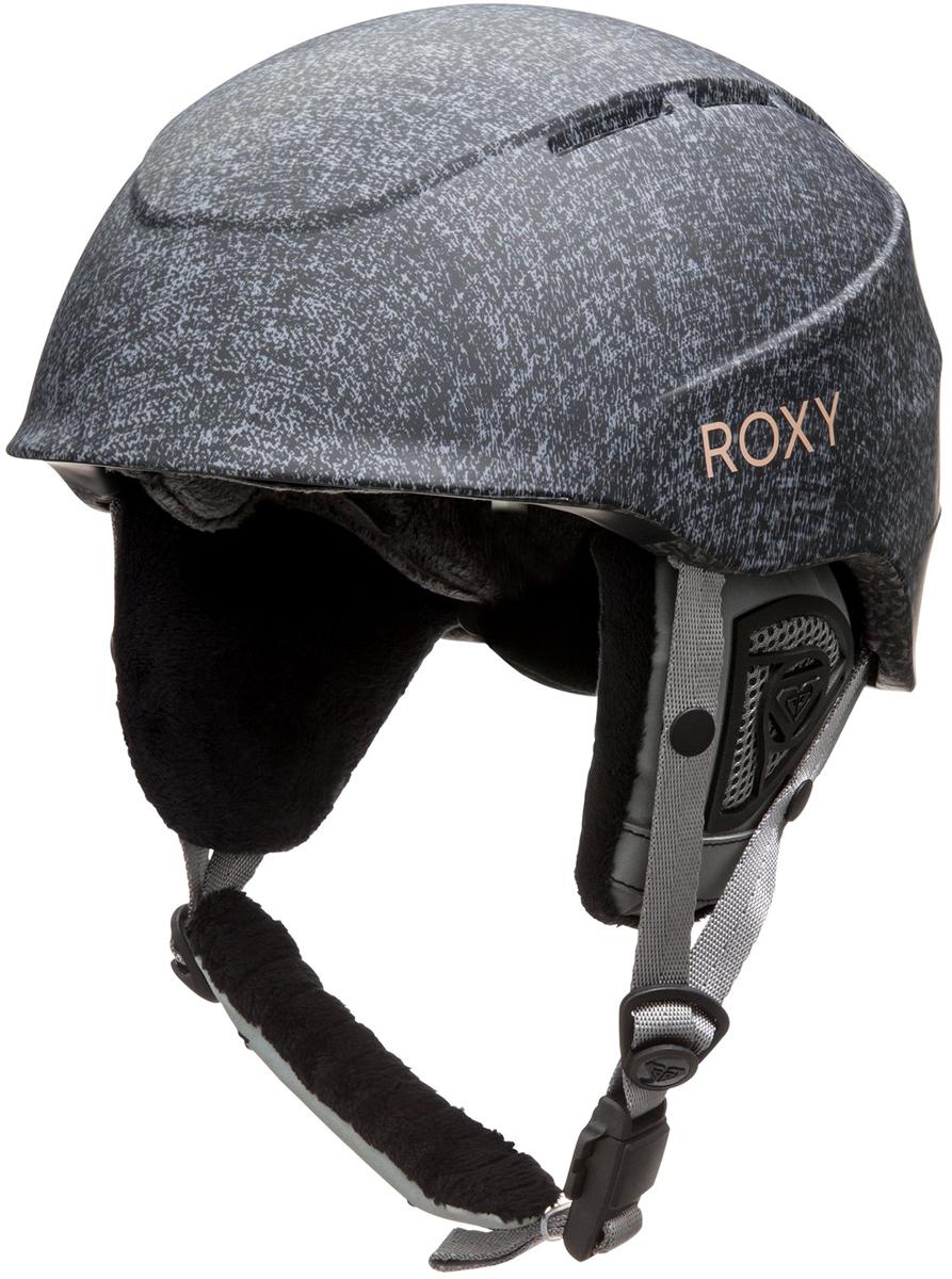 Шлем для горных лыж и сноуборда женский Roxy. ERJTL03016-SGRH. Размер L (60-62)ERJTL03016-SGRHЖенский шлем для горных лыж и сноуборда Roxy выполнен из материала двойной микрошелл сверхлегкой литой конструкции с ударопоглощающим пенным полимером EPS. Подкладка исполнена из сетки и флисовой шерпы. Шлем оснащен мягкими термоформованными съемными накладками на уши.Стреп на подбородок выполнен из мягкой шерпы и оснащен застежкой системы Fidlock. Вентиляция - пассивная фронтальная и верхняя (отверстия с металлическим покрытием). Предусмотрена система регулировки размера.Сертификация: EN1077.Что взять с собой на горнолыжную прогулку: рассказывают эксперты. Статья OZON Гид