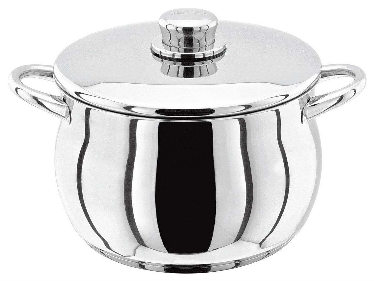 Кастрюля Stellar 1000, 4,4 лS144Классическая английская форма посуды в сочетании с непревзойденным европейским качеством. Дно посуды изготовлено методом горячей ковки, что гарантирует равномерное распределение тепла на всех типах варочных панелей. Произведено в Португалии. Хромированная нержавеющая сталь. Широкий ассортимент, включая глубокие и антипригарные сковородки. Можно мыть в посудомоечной машине. Пригодны для использования в духовке (до 240 гр. С). Подарочная упаковка, брошюра с рекомендациями по уходу за посудой.