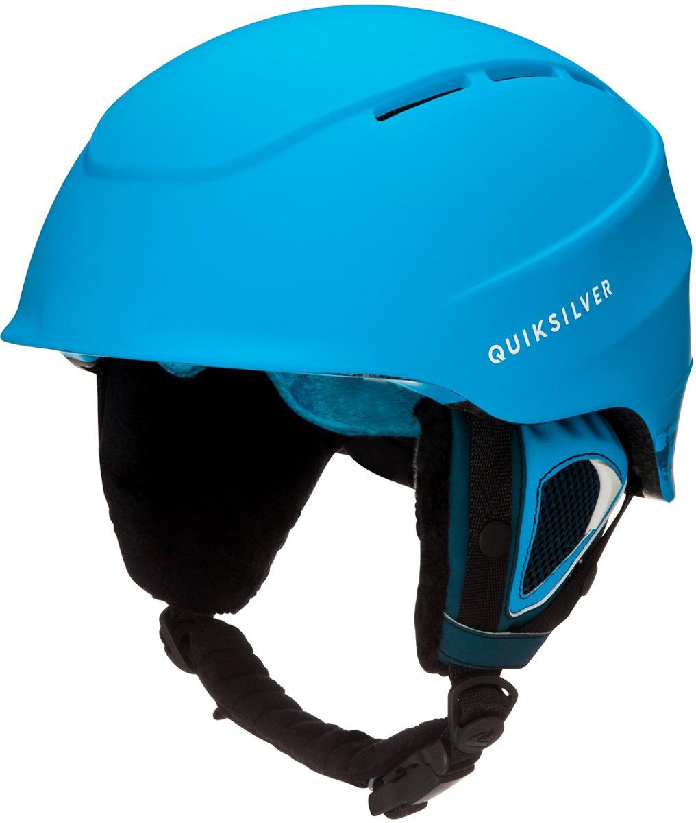 Шлем для горных лыж и сноуборда мужской Quiksilver. EQYTL03016-BYH0. Размер L (56-58)EQYTL03016-BYH0Шлем для горных лыж и сноуборда Quiksilver выполнен из материала двойной микрошелл сверхлегкой литой конструкции. Ударопоглощающий пенный полимер EPS обеспечивает безопасность.На шлеме расположены вентиляционные отверстия с металлической отделкой спереди. Подкладка выполнена из сетки и флисовой шерпы. Шлем оснащен мягкими термоформованными съемными накладками на уши. Система регулировки размера.Стреп на подбородок выполнен из мягкой шерпы и оснащен застежкой системы Fidlock. Вес: 400 г. Сертификация: EN1077.