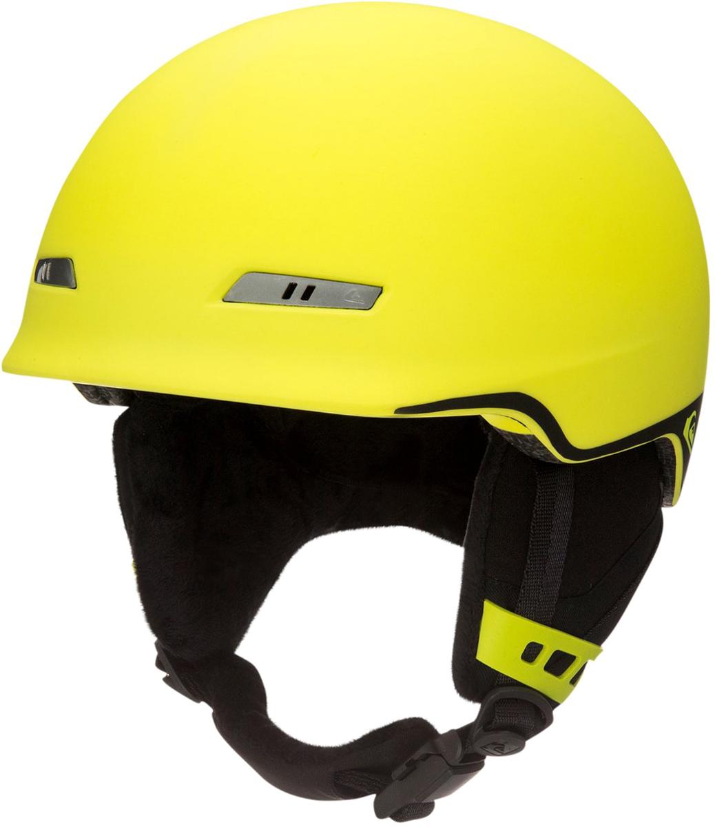 Шлем для горных лыж и сноуборда мужской Quiksilver. EQYTL03017-GGP0. Размер M (54-56)EQYTL03017-GGP0Шлем для горных лыж и сноуборда Quiksilver выполнен из материала двойной микрошелл сверхлегкой литой конструкции. Ударопоглощающий пенный полимер EPS обеспечивает безопасность.Предусмотрена пассивная вентиляция спереди и сзади. Подкладка выполнена из сетки и флисовой шерпы. Шлем оснащен мягкими термоформованными съемными накладками на уши. Система регулировки размера и воротник-гейтер.Стреп на подбородок выполнен из мягкой шерпы и оснащен застежкой системы Fidlock. Вес: 400 г. Сертификация: EN1077.Что взять с собой на горнолыжную прогулку: рассказывают эксперты. Статья OZON Гид