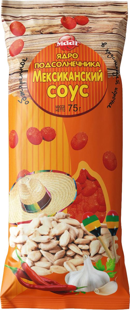 МААГ ядро подсолнечника со вкусом мексиканский соус, 75 г