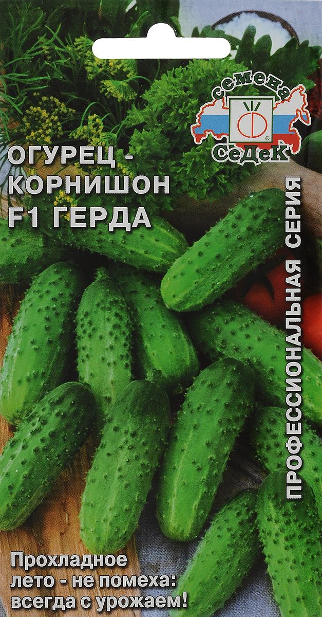 Семена Седек Огурец. Герда F14607015182309Семена Седек Огурец. Герда F1 - среднеранний (45-50 дней) пчелоопыляемый с частичной партенокарпией (не требует опыления) гибрид для выращивания в открытом и защищенном грунте. Растение сильнорослое, сильноплетистое, преимущественно с женским типом цветения и пучковым расположением завязей (по 3-5 в узле). Зеленцы короткие, цилиндрические, бугорчатые, зеленые с небольшими полосами, белошипые, длиной 8-10 см, массой 70-75 г. Ценность гибрида: обладает устойчивостью к настоящей и ложной мучнистой росе, интенсивное плодообразование, плоды не перерастают и не деформируются. Рекомендуется для употребления в свежем виде, консервирования, приготовления малосольных огурцов.Товар сертифицирован. Уважаемые клиенты! Обращаем ваше внимание на то, что упаковка может иметь несколько видов дизайна. Поставка осуществляется в зависимости от наличия на складе.