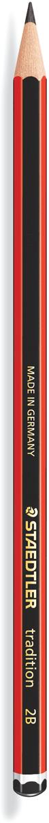 Staedtler Карандаш чернографитный Tradition твердость 2В110-2BЧернографитовый карандаш tradition 110 для письма, черчения и набросков. Шестигранная форма корпуса. Степень твердости - 2B (мягкий). Диаметр грифеля - 2 мм. Непревзойденная устойчивость к поломке благодаря специально разработанному составу грифеля и особой проклейке. При производстве используется древесина сертифицированных и специально подготовленных лесов.