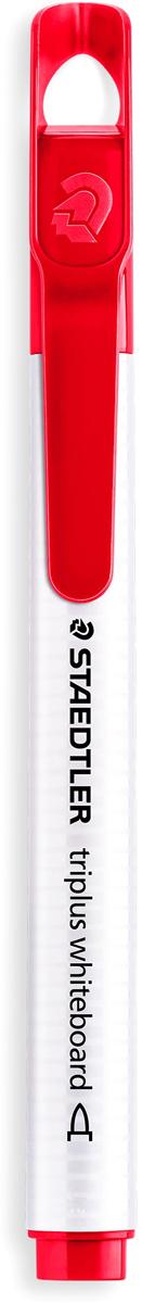 Staedtler Маркер Triplus цвет красный 3451-23451-2Маркер для досок, планнингов, и прочих досок. Стильный дизайн с колпачком для крепления. Круглый пишущий узел. Легко удаляется сухой тканью.