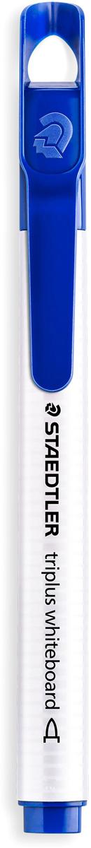 Staedtler Маркер Triplus цвет синий 3451-33451-3Mмаркер triplus для досок, планнингов, и прочих досок. Стильный дизайн с колпачком для крепления. Круглый пишущий узел. Толщина письма- 1-2 мм. Цвет синий. Легко удаляется сухой тканью.