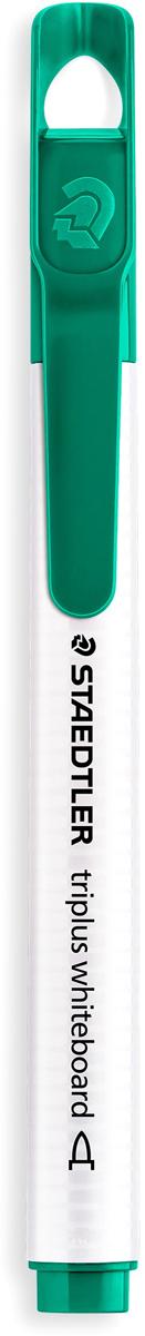 Staedtler Маркер Triplus цвет зеленый 3451-53451-5Mмаркер triplus для досок, планнингов, и прочих досок. Стильный дизайн с колпачком для крепления. Круглый пишущий узел. Толщина письма- 1-2 мм. Цвет зеленый. Легко удаляется сухой тканью.