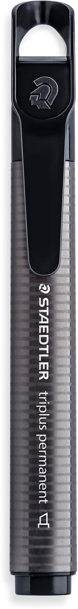 Staedtler Маркер Triplus цвет черный 3550-93550-9Знаменитые маркеры Staedtler теперь в новом формате! Эргономичнаятреугольная форма, колпачок с отверстием для крепления. Непревзойденнаяяркость цветов! Подходит для большинства поверхностей. Быстро высыхает.Долгий срок службы. Удобство в использовании. Скошенная форма пишущего узла.