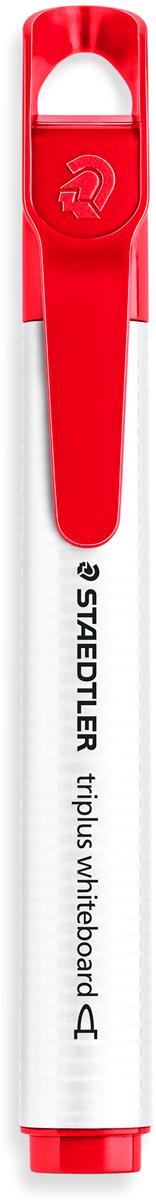 Staedtler Маркер Triplus цвет красный3551-2Mмаркер triplus для досок, планнингов, и прочих досок. Стильный дизайн с колпачком для крепления. Круглый пишущий узел. Толщина письма- 2 мм. Цвет красный. Легко удаляется сухой тканью.