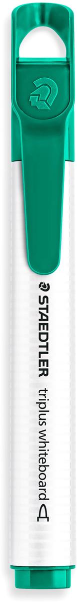 Staedtler Маркер Triplus цвет зеленый 3551-53551-5Mмаркер triplus для досок, планнингов, и прочих досок. Стильный дизайн с колпачком для крепления. Круглый пишущий узел. Толщина письма- 2 мм. Цвет зеленый. Легко удаляется сухой тканью.