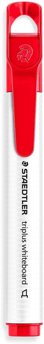 Staedtler Маркер Triplus цвет красный 3551B-23551B-2Mмаркер triplus для досок, планнингов, и прочих досок. Стильный дизайн с колпачком для крепления. Скошенный пишущий узел. Толщина письма- 2-5 мм. Цвет красный. Легко удаляется сухой тканью.