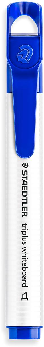 Staedtler Маркер Triplus цвет синий 3551B-33551B-3Mмаркер triplus для досок, планнингов, и прочих досок. Стильный дизайн с колпачком для крепления. Скошенный пишущий узел. Толщина письма- 2-5 мм. Цвет синий. Легко удаляется сухой тканью.