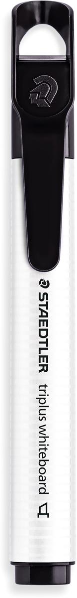 Staedtler Маркер Triplus цвет черный 3551B-93551B-9Маркер для досок, планнингов, и прочих досок. Стильный дизайн с колпачком для крепления. Скошенный пишущий узел. Легко удаляется сухой тканью.
