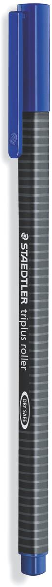Staedtler Ручка-роллер Triplus цвет чернил синий403-3Трехгранная ручка-роллер эргономичной формы для удобного и легкого письма.Устойчивый к нажиму металлический пишущий узел. Превосходно гладкое письмо.Подходит для копий. Чернила на водной основе. Отстирываются с большинстватканей. Корпус из полипропилена гарантирует долгий срок службы. Безопасно длясамолетов - автоматическое выравнивание давления предотвращает отвытекания чернил на борту самолета.