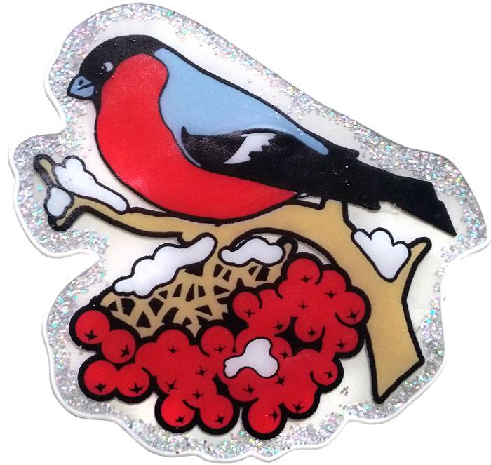 Наклейка декоративная Winter Wings Снегирь, 20 х 20 см. N09398N09398Наклейка декортативная СНЕГИРЬ, 20*20 см, ПВХ