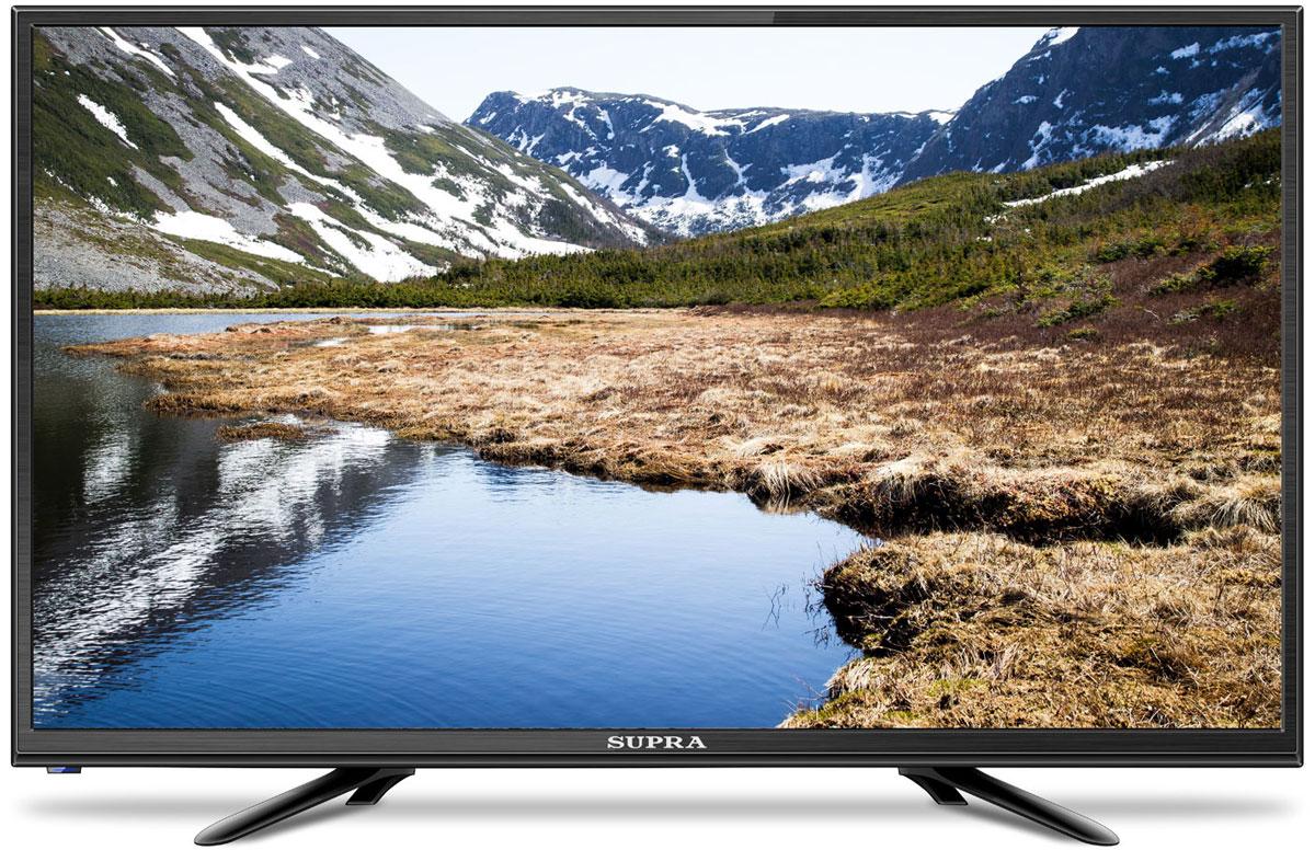 Supra STV-LC24LT0010W, Black телевизор телевизор supra stv lc32t700wl