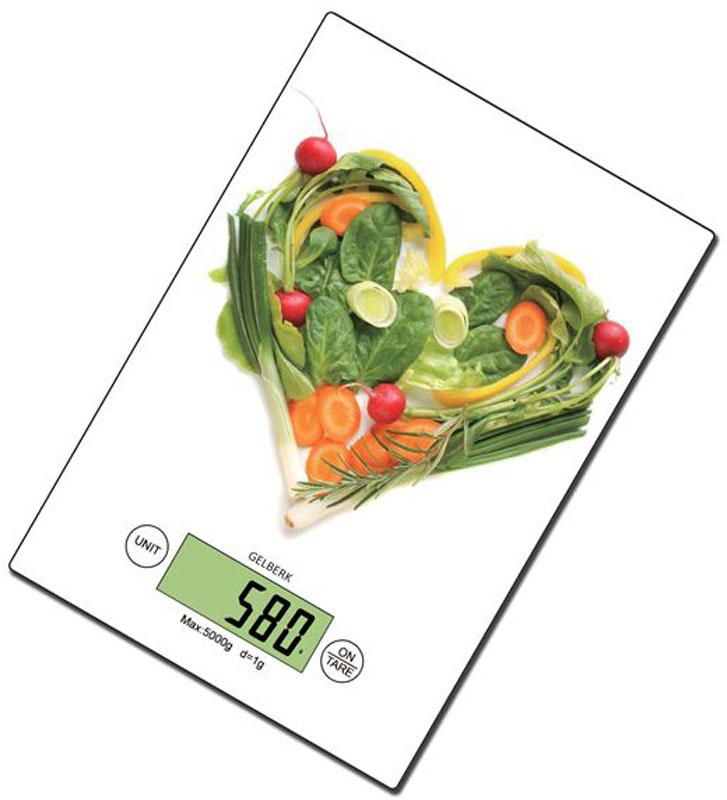Gelberk GL-261 весы кухонные - Кухонные весы