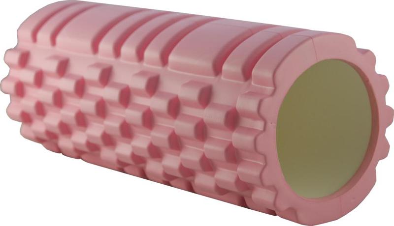Ролик массажный  Atemi , цвет: розовый - Фитнес
