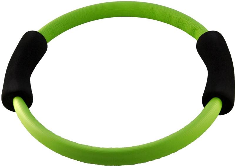 Кольцо для пилатеса Atemi, цвет: зеленый, диаметр 35 см аксессуары для пилатес original fittools кольцо изотоническое для пилатес
